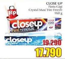 Pasta Gigi Closeup Terbaru promo harga up terbaru katalog hemat id