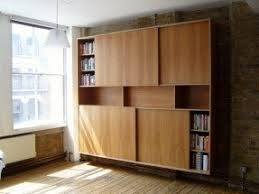 Bookcase With Door Wooden Bookcases With Glass Doors Foter