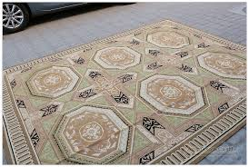 8 By 10 Area Rugs 8x10 Geometric Aubusson Area Rug Vintage Decor Wool Home