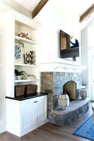 built in cabinets around fireplace fireplace with built ins redencabo me
