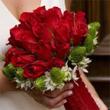 Roses And Lilies Bridal Bouquet Calla Lilies And Red Roses Duo Include Flower