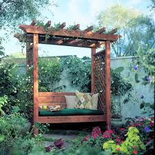 Arbor Ideas Backyard Garden Arbor Bench Garden Arbours Arbors And Bench