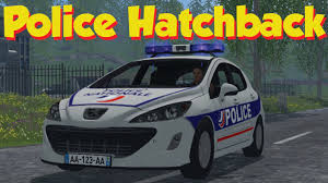 peugeot araba farming simulator 2015 peugeot 308 police cars u0026 willy u0027s pickup