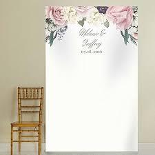 wedding backdrop themes personalized garden wedding theme backdrop create the