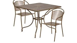 Square Patio Tables Contemporary Dining Room Tables