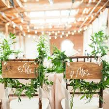 and groom chairs and groom chair decorations brides