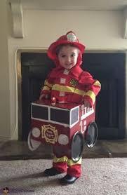 Handmade Toddler Boy Halloween Costumes Boys Girls Toddler Kids Teetot Size 3 Fireman Fire Fighter