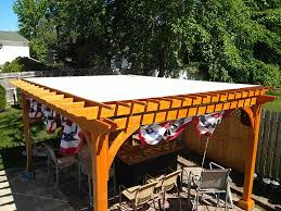 Custom Made Patio Furniture Covers by Custom Fabricated Pergola Covers