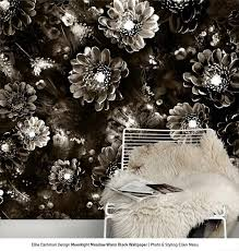 the 25 best black floral wallpaper ideas on pinterest wall