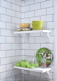 How To Install A Backsplash In A Kitchen Subway Tile Kitchen Backsplash Installation Jenna Burger