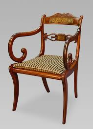 a very rare long set of sixteen george iii brass inlaid rosewood rosewood dining chairs 344 4 344 3 344 2