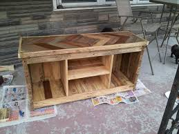 Pallet Console Table Diy Pallet Media Console And Tv Stand 101 Pallets Mobili Vari