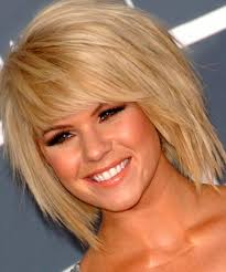 choppy bob hairstyles for thick hair edgy choppy bob hairstyle for thick hair hair pinterest