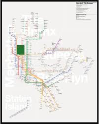 Mbta Map Subway by Unofficial Map New York Subway By Tommi Moilanenredesigning The