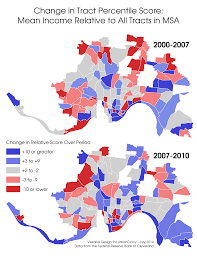 Census Tract Maps Census Tract Income Changes U2014 Urbancincy