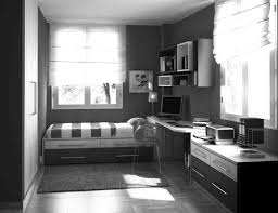 simple teenage bedroom decors with floating book shelf also single