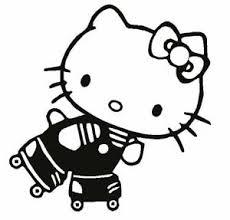 kitty roller skate derby decal vinyl sticker ebay