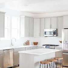 Light Grey Kitchen Cabinets Light Grey Shaker Kitchen Cabinets Design Ideas