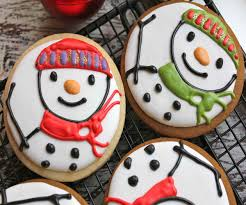 decorated christmas cookies recipes best images collections hd