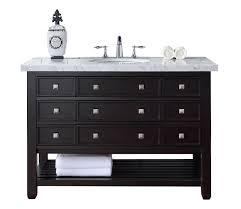 48 single sink bathroom vanity 48 vancouver espresso single sink bathroom vanity