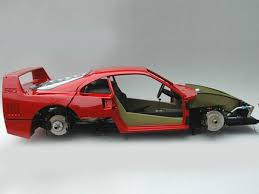 model f40 extremely detailed f40 model car build 30 pics