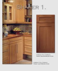 Full Overlay Kitchen Cabinets by Kitchen Cabinet Door Styles