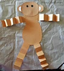 valentine u0027s day heart monkey craft for kids crafty morning