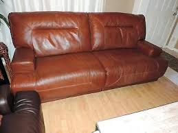 cognac leather reclining sofa ricardo leather reclining sofa large size of power recliner
