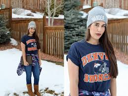 the chic country fashion game day style denver broncos vs