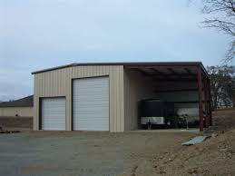 simple 2 car metal garage 2 car metal garage style
