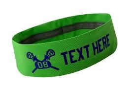 no slip headbands lacrosse headbands no slip silicone lined