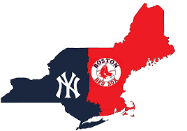 Map New York Connecticut by Finding The True Border Between Yankee And Red Sox Nation Using