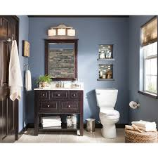 Allen Roth Vanity Lowes Shop Allen Roth Hagen Espresso Undermount Single Sink Bathroom