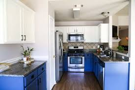 images of blue and white kitchen cabinets our diy blue white kitchen cabinets renovations