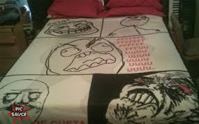 meme bed sheets y u no get laid picsauce