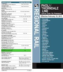 septa regional rail paoli thorndale line service map and