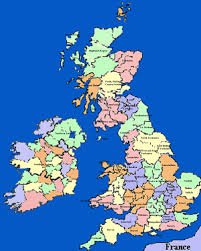 Map Of The United Kingdom Caravan Sites Campsites Camping Sites Inthe Uk Ireland France