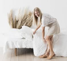 uncovering our linen bedding u2014 the beach people journal