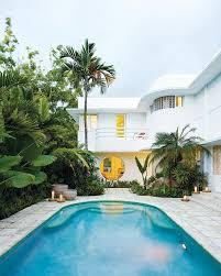 The Dining Room Miami Art Deco Beach Villa Becomes Mod Furniture Showcase Curbed Miami