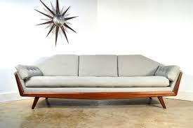 Adrian Sofa Adrian Pearsall Sofa Mid Century Modern Gondola Style Couch New