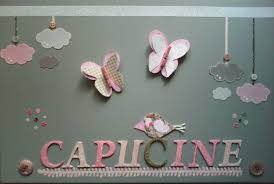 création déco chambre bébé tableau chambre bébé fille naissance cadeau place coucher idee