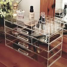 makeup storage makeup plastic storage unusual image design