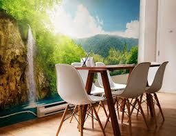 Best Dining Room Wall Mural Ideas Images On Pinterest Mural - Dining room mural