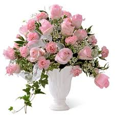 sympathy flowers ftd deepest sympathy flowers arrangement with pink roses