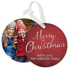 personalized together forever hanging photo ornament cards