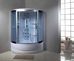 Shower Ideas For Master Bathroom Colors Bathroom Terrific Corner Steam Shower Kits With Stainless Steel