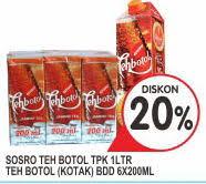 Teh Kotak Sosro 200 Ml Per Dus promo harga sosro minuman ringan terbaru minggu ini hemat id