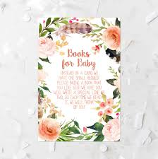 bohemian floral books for baby request printable coral books for
