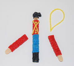 nutcracker and ballerina ornament crafts for wikki stix