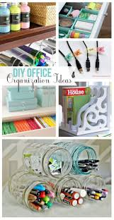 Office Organization Ideas For Desk best 25 diy office desk ideas on pinterest filing cabinet desk